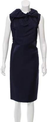 Lanvin Silk Shift Dress