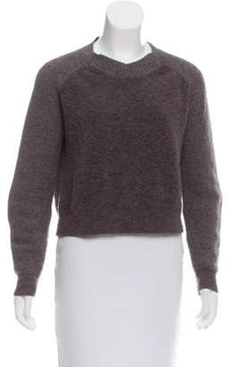 3.1 Phillip Lim Wool-Alpaca Long Sleeve Sweater