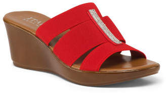 Made In Italy 3 Band Bling Wedges