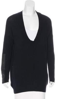 Duffy Long-Sleeve Wool Sweater