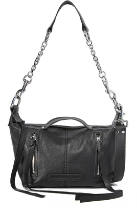 McQ - Alexander McQueen Mini Hobo Bag $545 thestylecure.com