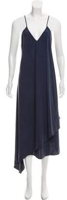 Tess Giberson Draped Maxi Dress w/ Tags