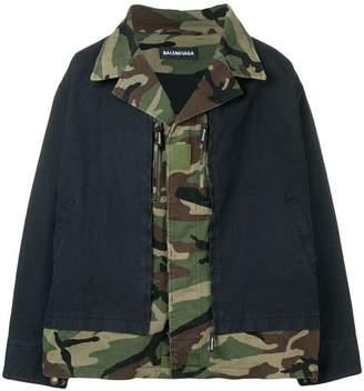 Balenciaga layered jacket