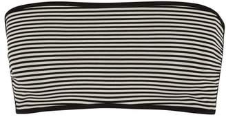Marysia Swim Adelaide Striped Reversible Bikini Top