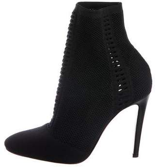 Gianvito Rossi Vires Knit Ankle Boots