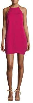 Halston Sleeveless Mini Dress