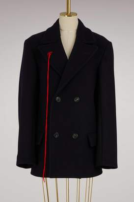 Maison Margiela Wool pea coat