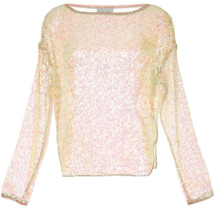 sequinned jumper