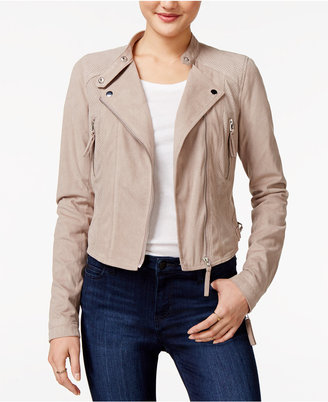 American Rag Faux-Suede Moto Jacket, Only at Macy's $89.50 thestylecure.com