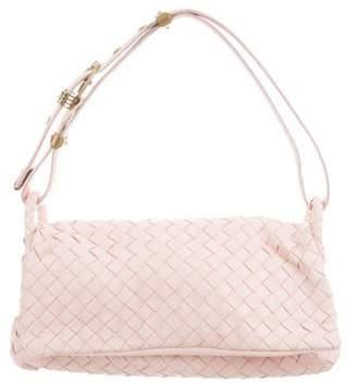 Bottega Veneta Intrecciato Shoulder Bag Pink Intrecciato Shoulder Bag