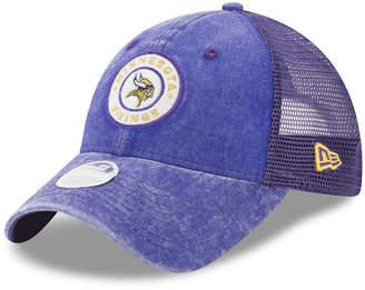 New Era Women's Minnesota Vikings Perfect Patch 9TWENTY Snapback Cap