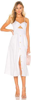 Karina Grimaldi Helen Midi Dress