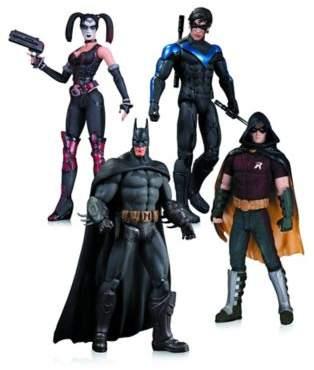 Bed Bath & Beyond DC Comics Batman: Arkham City 4-Piece Action Figure Set
