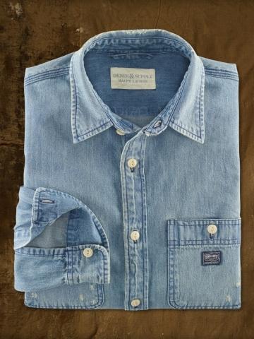 Denim & Supply Ralph Lauren Denim Ward Shirt