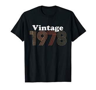 40th Birthday Gift Shirt Vintage Tee 1978 T-Shirt Men Women