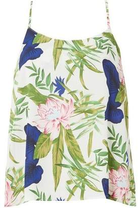 Dorothy Perkins Womens **Only Multi Colour Floral Camisole Top