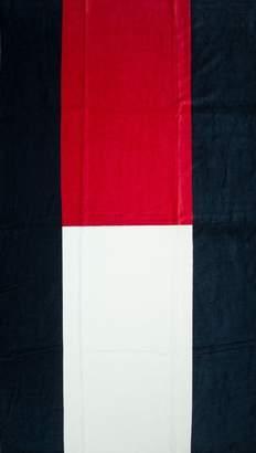Tommy Hilfiger Sea towel or pool or spa sponge cm.177x100 UM0UM00365 flag towel