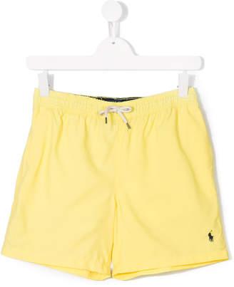 Ralph Lauren drawstring swim shorts
