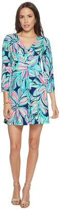 Lilly Pulitzer 3/4 Sleeve Amina Dress Women's Dress
