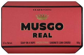 Claus Porto Musgo Real Spiced Citrus Soap On A Rope 190g