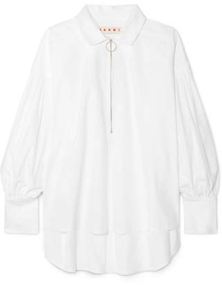 Marni Oversized Cotton-poplin Shirt