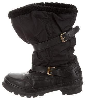 Burberry Shearling Snow Boots