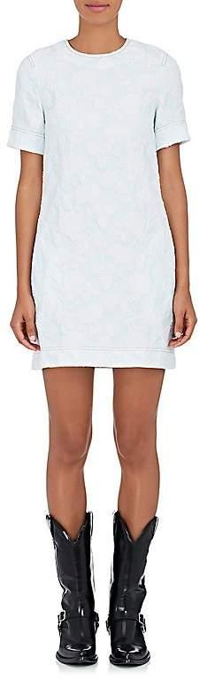CALVIN KLEIN 205W39NYC Women's Floral Cotton-Blend Cloqué Shift Dress