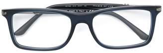 Giorgio Armani rectangular glasses