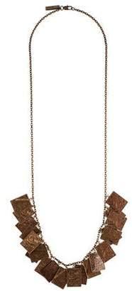 Burberry Floral Charm Pendant Necklace