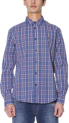Gas Jeans (ガス) - GAS ANDREW CORE チェック柄 長袖シャツ ディープレイク s