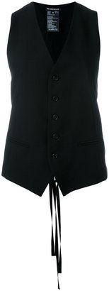 Ann Demeulemeester single-breasted waistcoat $620 thestylecure.com