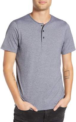 Wings + Horns Marled Henley T-Shirt