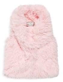 Widgeon Little Girl's& Girl's Faux Fur Vest
