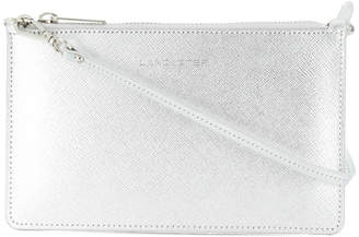 Lancaster logo wristlet clutch