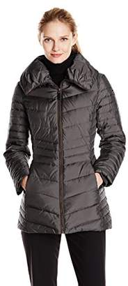 Marc New York by Andrew Marc Women's Kirby Short Chevron Down Coat $47.59 thestylecure.com