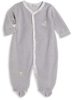 Kissy Kissy Baby's Animal Embroidered Footie