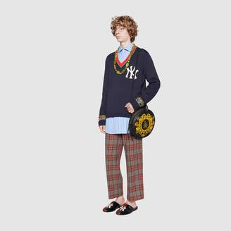 Gucci Men's sweater with NY YankeesTM patch