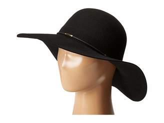 Scala Wool Floppy Hat with Wax Cord Trim