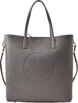Anya Hindmarch Ebury Smiley tote bag $929 thestylecure.com