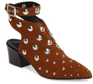 Topshop Women's Topshop Madness Studded Wraparound Bootie