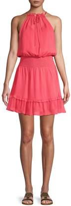 Parker Silk Blouson Dress