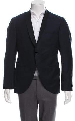 Luigi Bianchi Mantova Wool Single Button Blazer