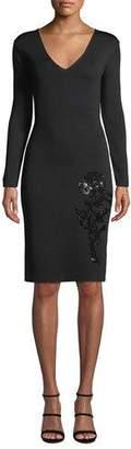 Sachin + Babi Violette Embroidered Bodycon Dress