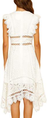 STYLEKEEPERS Euphoria Cutout Crochet A-Line Dress