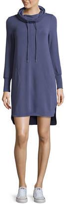 Spense Cowled Shirtail Dress