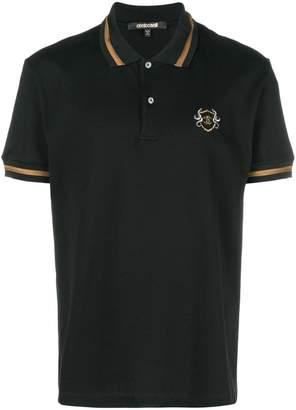 Roberto Cavalli embroidered logo polo shirt