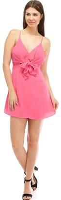 Do & Be Front-Tie Mini Dress