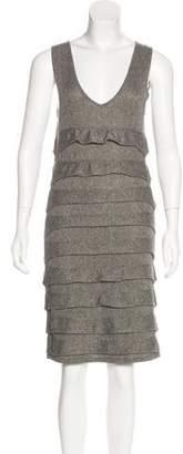 Rag & Bone Silk-Blend Sleeveless Midi Dress