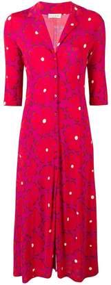 Siyu floral print shirt dress