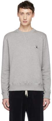 Band Of Outsiders Grey Whistler Skiier Sweatshirt